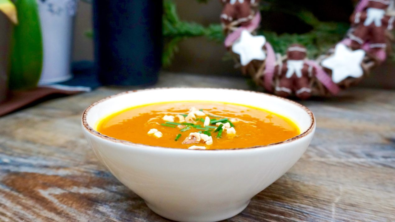 Ma soupe potimarron-gingembre