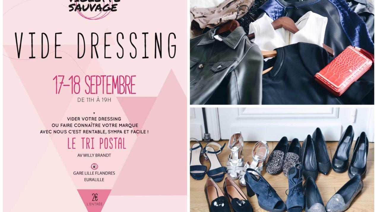 Violette Sauvage, le vide-dressing géant favori des fashionistas revient à Lille !