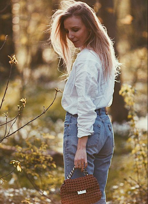 golden hour & vintage jeans