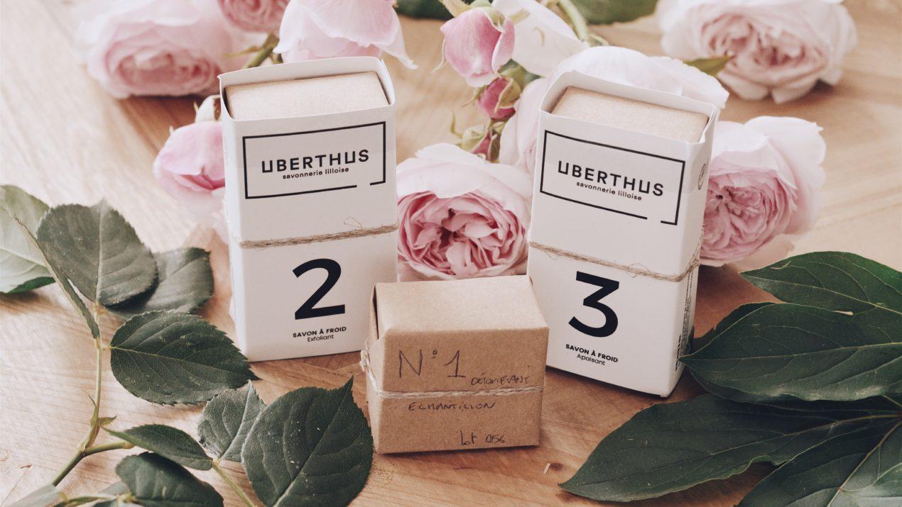 Revue : les savons naturels et bio «made in France» de la marque lilloise Uberthus