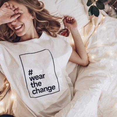 CONCOURS : le t-shirt éco-responsable #WearTheChange de C&A