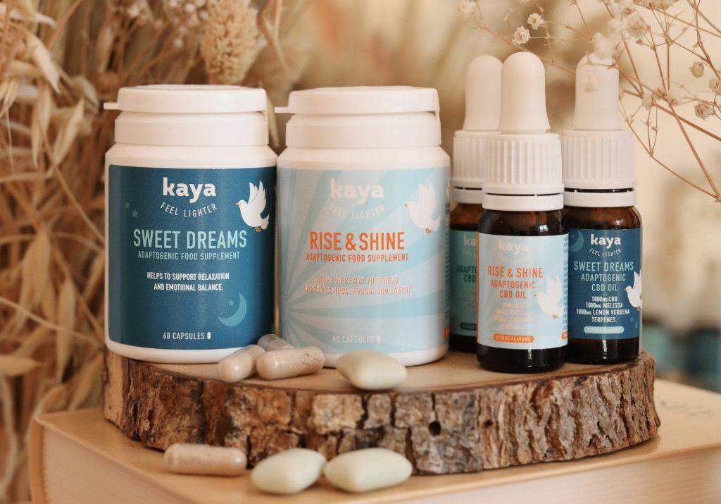 Comment j'ai réussi à mieux dormir & être plus sereine au quotidien grâce aux compléments alimentaires au CBD de Kaya (test + avis + code promo) ♡
