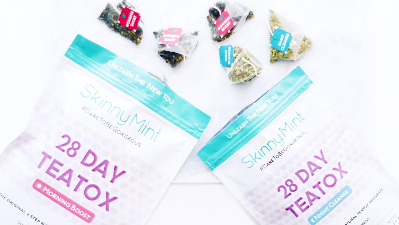 Revue : Teatox by Skinny Mint, la cure de thé détox