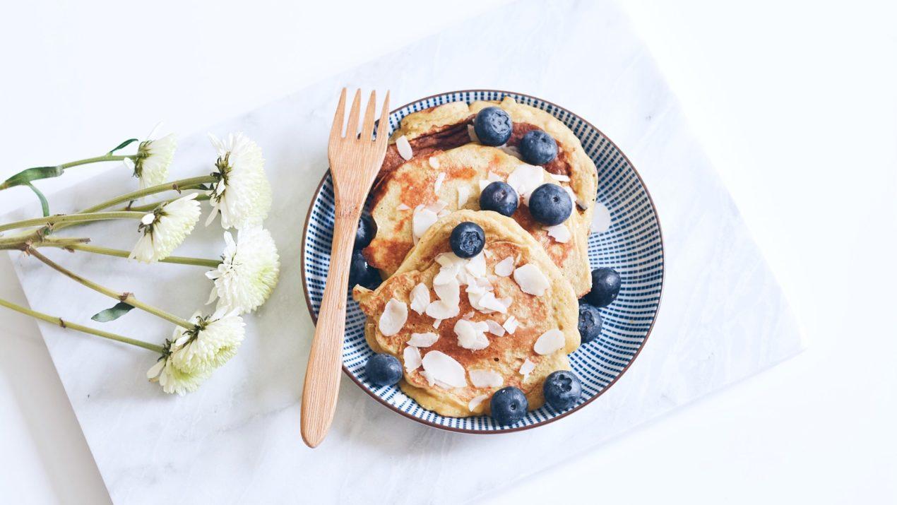 recettes : mes pancakes à la banane (sans gluten ni laitages)