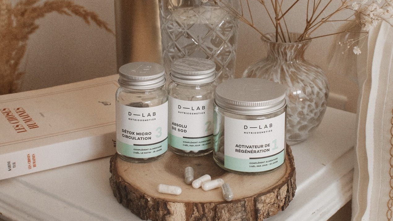 La cure Peau Sensible de D-Lab Nutricosmetics